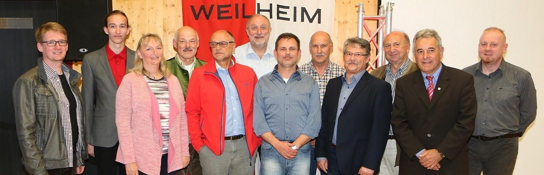 Vorstands-Team 2016