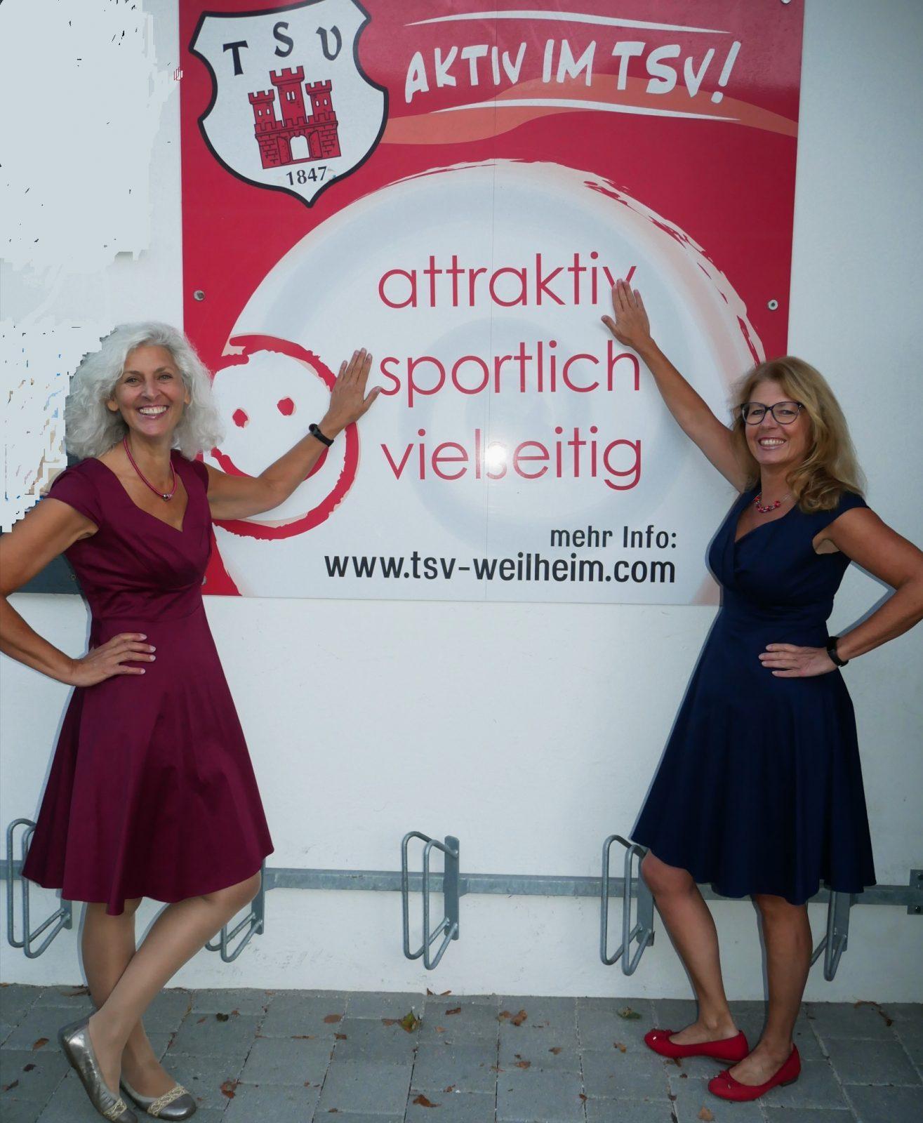 Heidi David und Karin Damnig