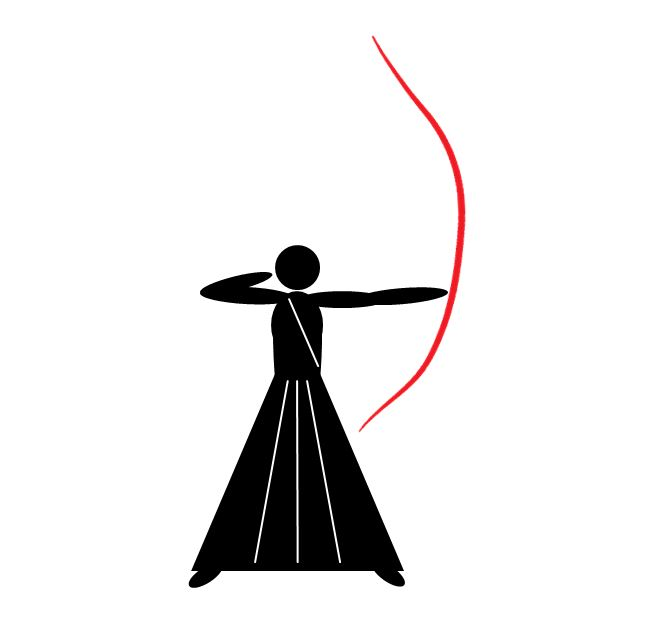 Kyudo icon, TSV 1847 WM
