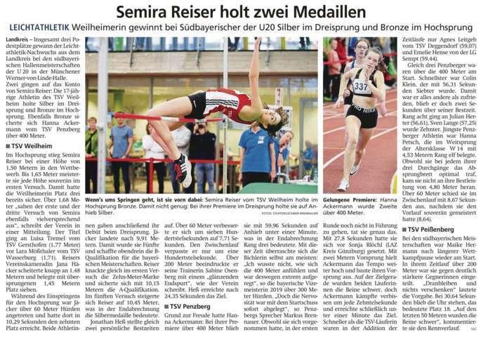 2020-01-22 Weilheimer Tagblatt fm