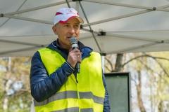 2017-Aulauf0-09910 Chef des Aulaufs und Leiter der Abteilung Leichtathletik Michael Horstmann
