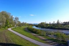 2017-Aulauf0 2017-04-29 Fantastischer Blick der Laufstrecke 5km und 10km