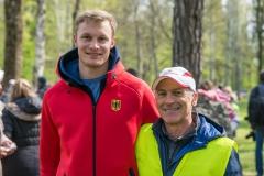 2017-Aulauf1-00081a Johannes Trefz und Michael Horstmann