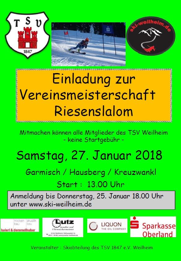 2018-01-27-Vereinsmeisterschaft-Riesenslalom