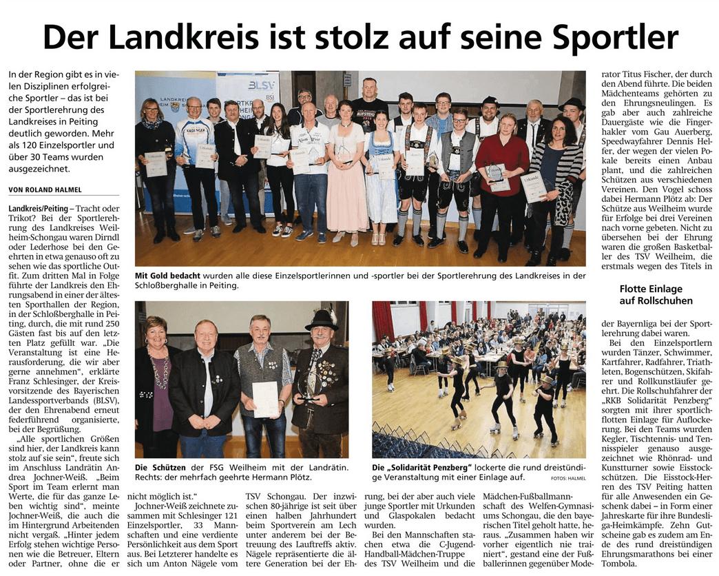 2019-04-13 Landkreis-Sportlerehrung