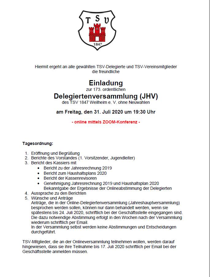2020 Einladung JHV