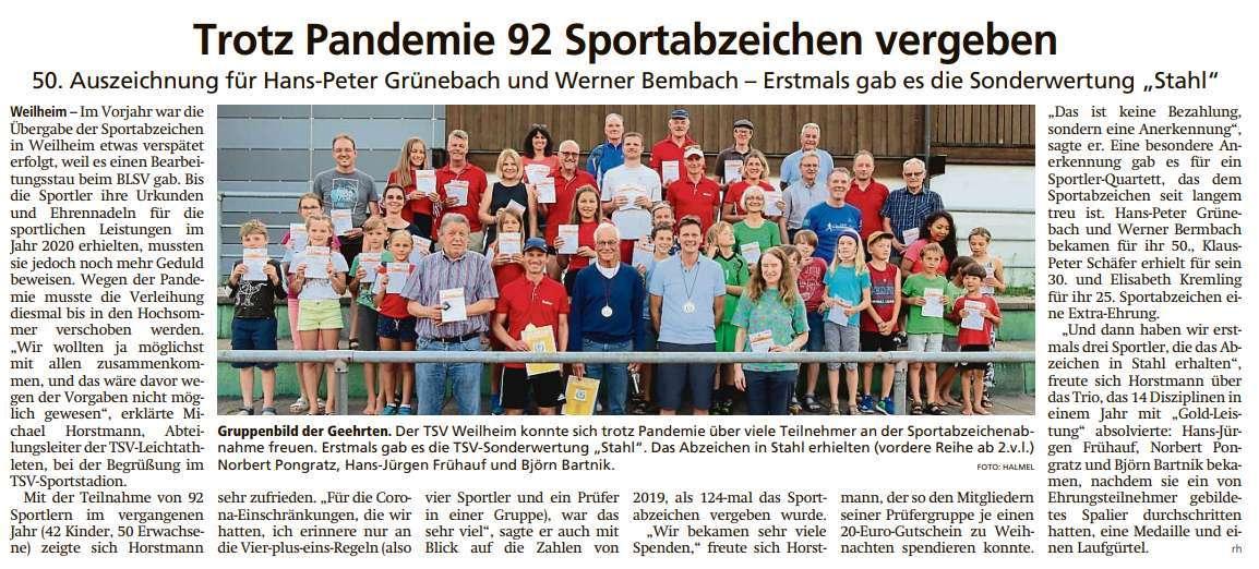 2021-08-28 Tagblatt LA fm